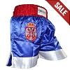 FIGHT-FIT - Muay Thai Shorts / Serbien-Srbija / Zastava