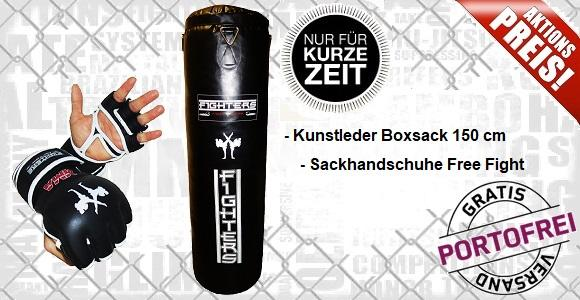 Boxsack Aktionsangebot - Kickboxing